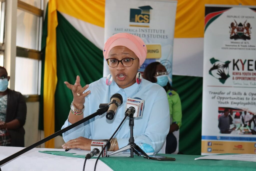 Youth CAS urges Youth to Join KYEOP